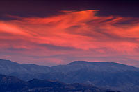 Sunset Over Inyo Mountains - White Mountains, California (3842 bytes) www.jeffkrewson.com