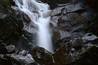 Unknown Waterfall, Forest Service Spurroad - Alpine Lakes Wilderness, Washington (8210 bytes) www.jeffkrewson.com